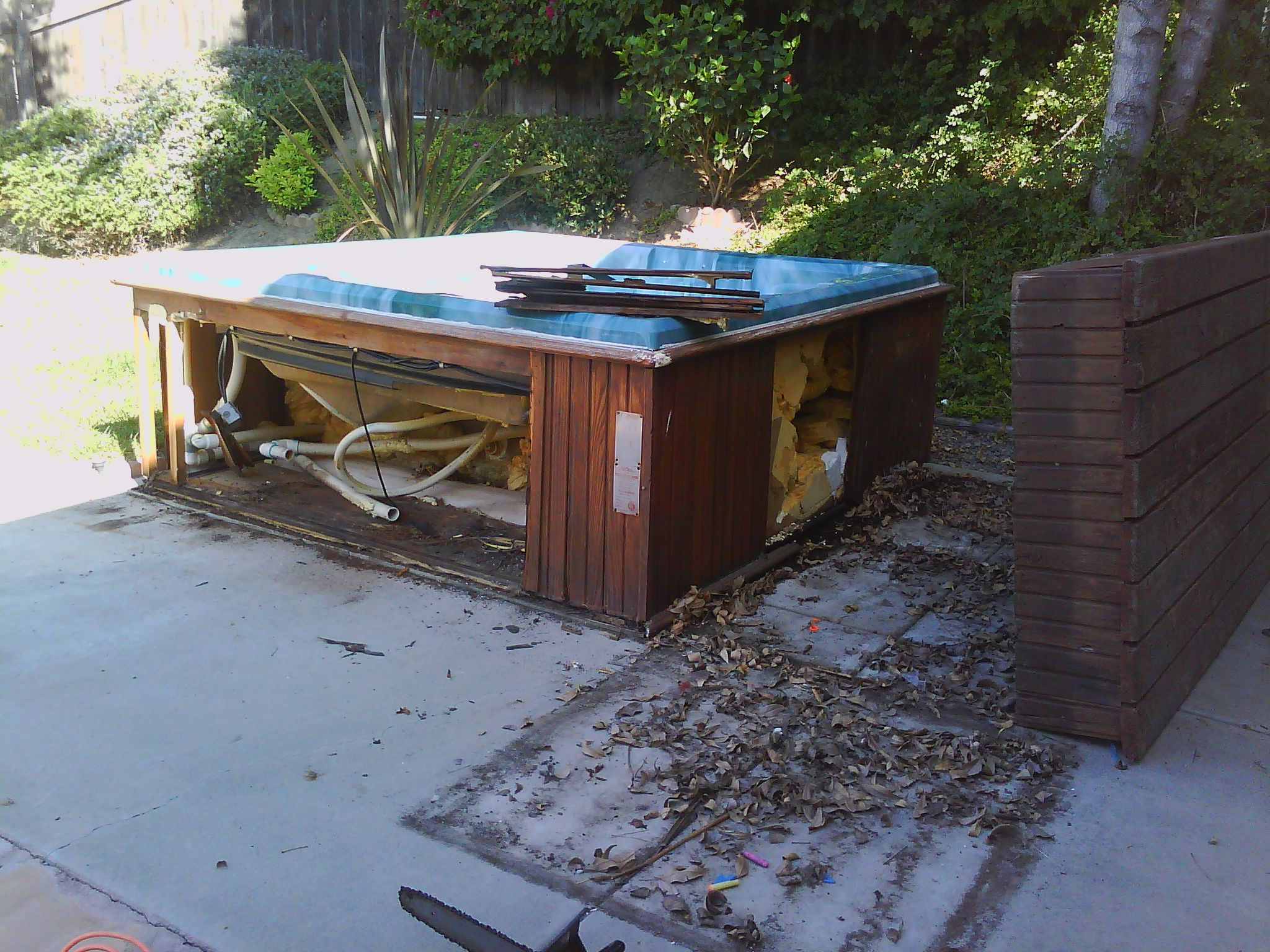 Poway Spa Removal and Poway Hot Tub Removal